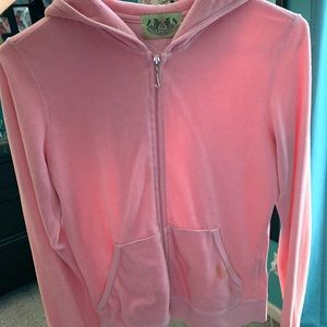 Pink Juicy Couture Velour Jacket